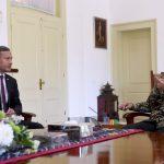 Presiden Bahas Persiapan Leader's Retreat dengan Menlu Singapura