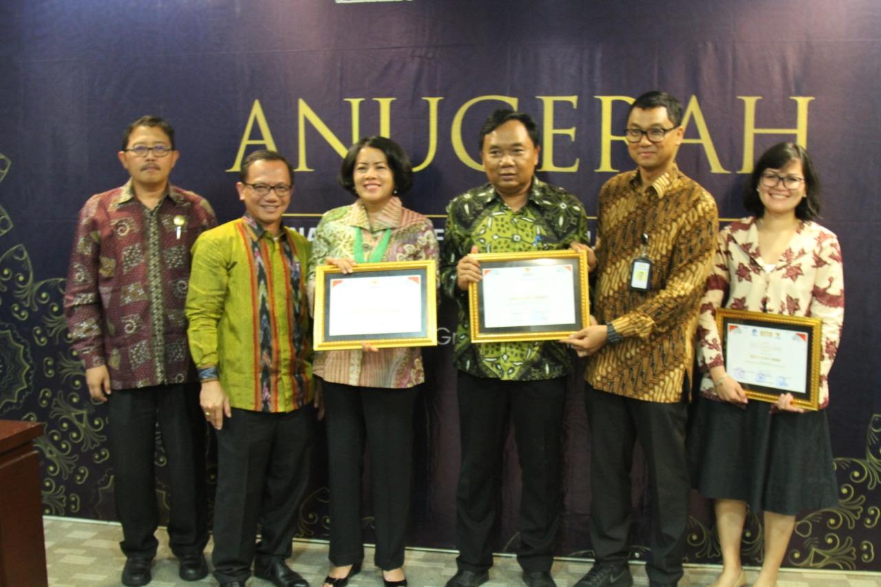 12 Kementerian/Lembaga dan BUMN Raih Penghargaan dan Apresiasi Layanan Informasi Mudik 2019