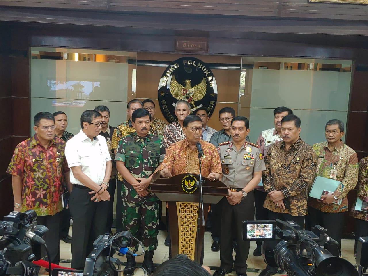 Pemerintah Bentuk Tim Khusus Tangani Eks ISIS asal Indonesia
