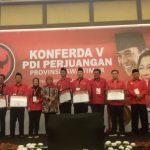 DPD PDI Perjuangan Jatim Beri Penghargaan DPC Berprestasi