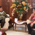 Pertemuan Menggembirakan Megawati dan Prabowo