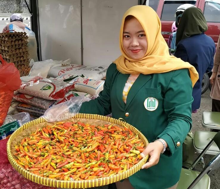 Operasi Pasar Murni Kota Kediri, Belum Mampu Kendalikan Harga Cabai