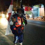 Ingin Bertemu Jokowi, Tukang Tambal Ban Jalan Mundur