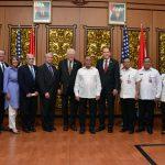 Menhan RI Terima Delegasi Kongres AS, Bahas Peningkatan Kerjasama Pertahanan