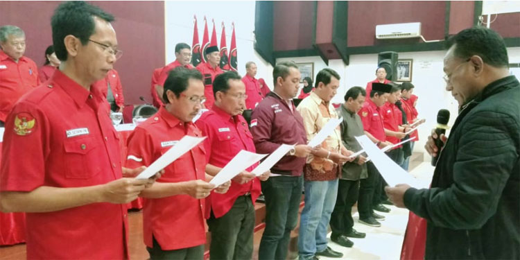 Ini Pengurus Baru DPC PDI Perjuangan Surabaya