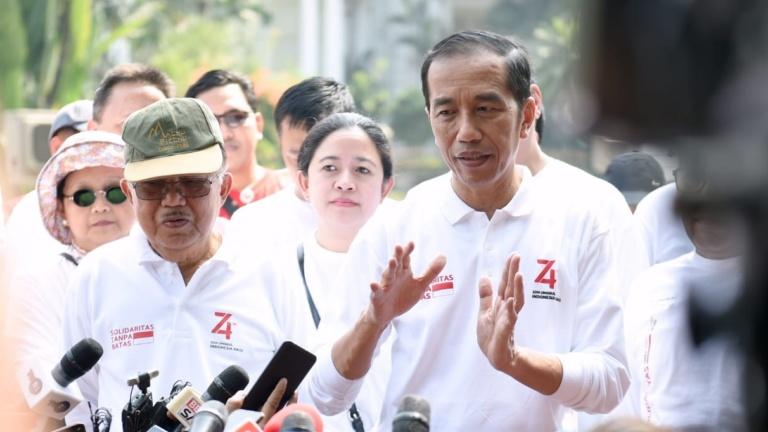 Presiden dan Para Menteri Kabinet Kerja Galang Donasi untuk Gempa Banten