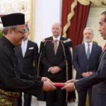 Presiden Terima Surat Kepercayaan 12 Duta Besar Negara Sahabat