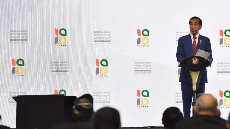 Jokowi Ajak Afrika Wujudkan Kemajuan dan Lompatan Besar