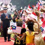Presiden Sambut Kunjungan Kenegaraan Raja Malaysia di Istana Bogor