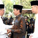 Presiden Melayat Ibunda SBY