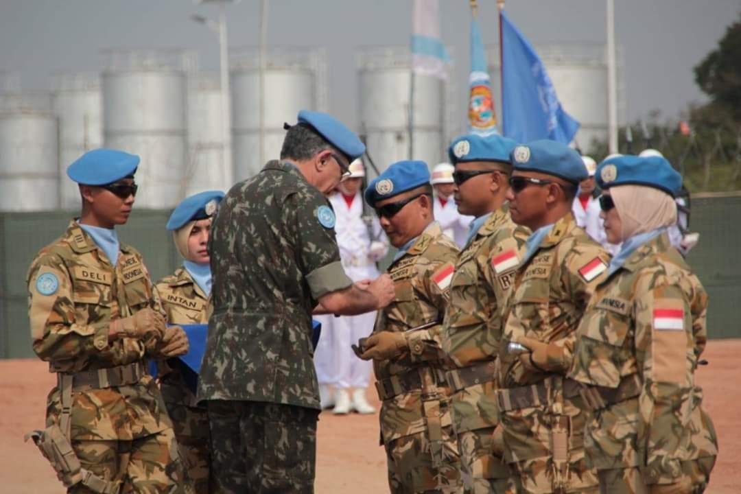 Satgas TNI Konga Raih Medali Kehormatan PBB