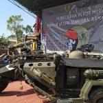 Ratusan Vespa Tank dan Army Look Pecahkan Rekor MURI
