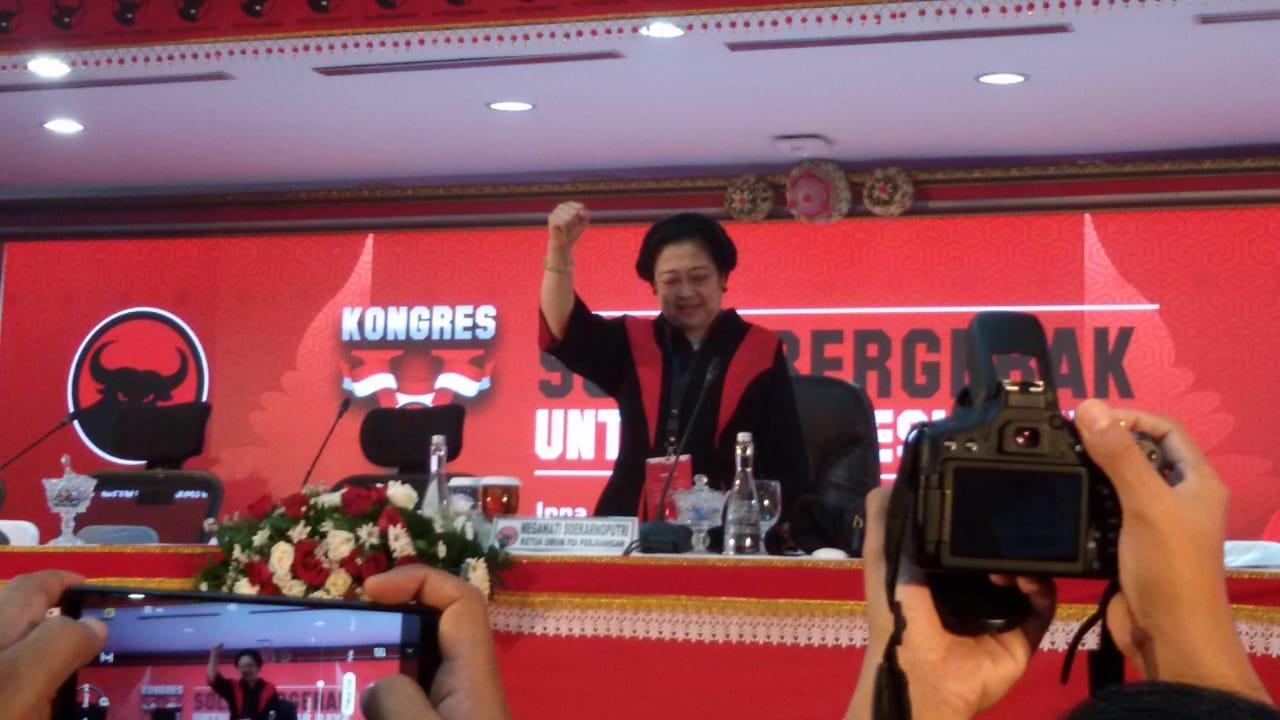 Megawati Titipkan Tri Karsa pada Kader PDI Perjuangan