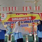 Pelajar Tunanetra Ikuti Perlombaan HUT ke-74 RI