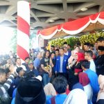 PMII Jatim Gelar Aksi saat Pelantikan DPRD Jatim