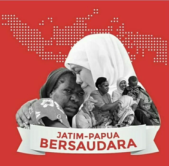 """""""Salam PAPEDA"""" dari Gubernur Jatim untuk Masyarakat Papua"""