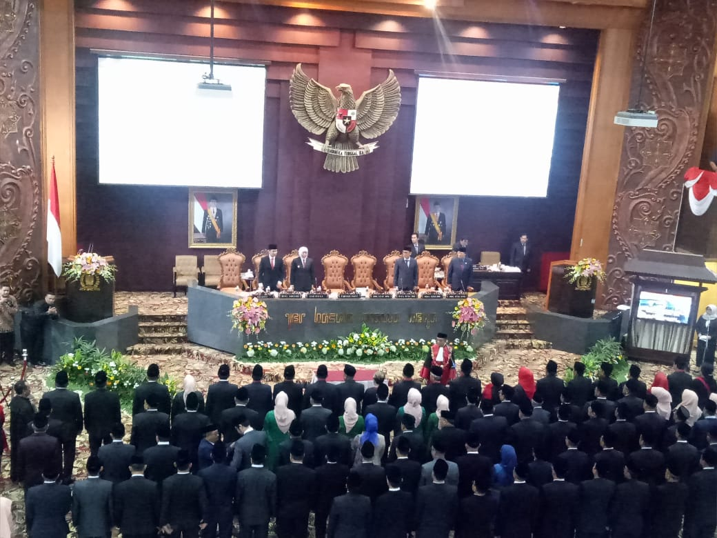 Wakil Rakyat Jatim Dilantik, PDI Perjuangan Terbanyak