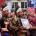 Presiden Bersilaturahmi dengan para Pemenang Festival Gapura Cinta Negeri