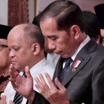 Presiden Bertakziah ke Rumah Duka B.J. Habibie