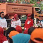 Ibu Negara Resmikan Gerakan Indonesia Bersih di Sungai Cipakancilan