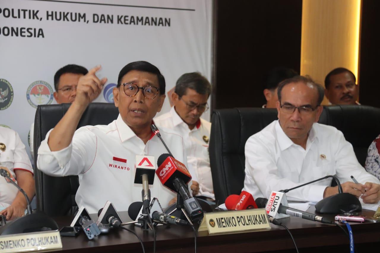 Wiranto Jawab Hoax dan Provokasi Soal Papua