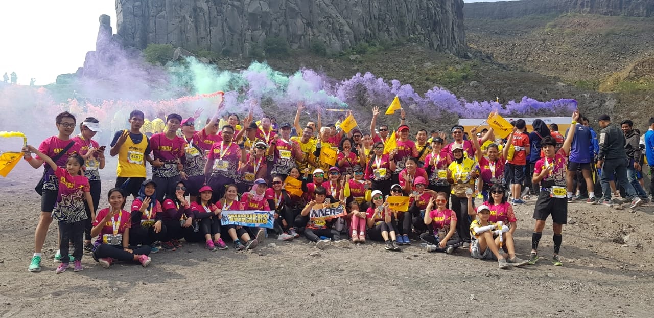 Semarak Kelud Volcano Road Run 2019