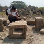 Penemuan Batu Bata Kuno di Proyek Perumahan Bersubsidi Kediri