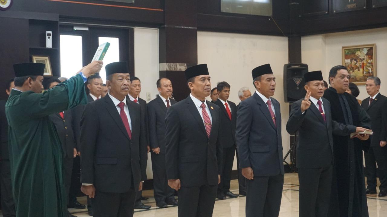 Pesan Wiranto Untuk Pejabat Baru