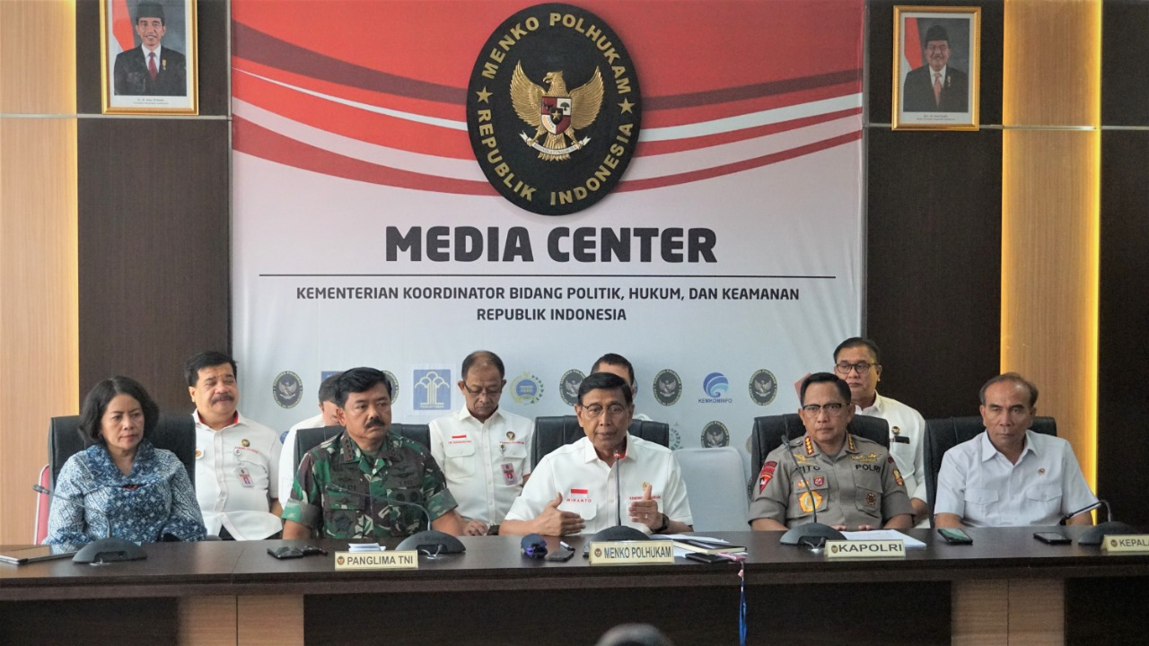 Wiranto : Dari 8 RUU Hanya 3 yang Disetujui Pemerintah