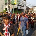 Grebeg Suro dan Kirab 1000 Pecut di Kediri