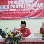 DPD PDI Perjuangan Gelar Pendidikan Kader Pratama