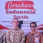 Gerakan Indonesia Tertib, Tekankan Tertib Berlalu Lintas dan Perbaikan Pasar Tradisional