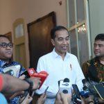 Presiden Bertemu dengan Dua Serikat Pekerja di Istana Bogor