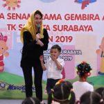 Perwosi Jatim Gelar Lomba Senam Irama Gembira Anak