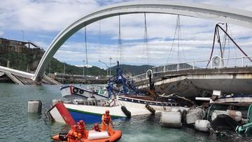 3 WNI Meninggal dalam Ambruknya Jembatan Taiwan