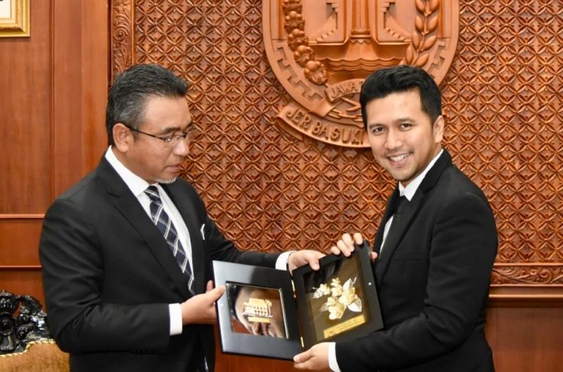 Wagub Jatim Tawarkan Pengembangan BTS kepada Ketua Menteri Melaka Malaysia