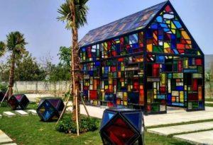 DKRTH Surabaya Rampungkan Pembangunan Tahap Pertama Taman Mozaik
