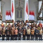 Anggota Kabinet Indonesia Maju Resmi Dilantik