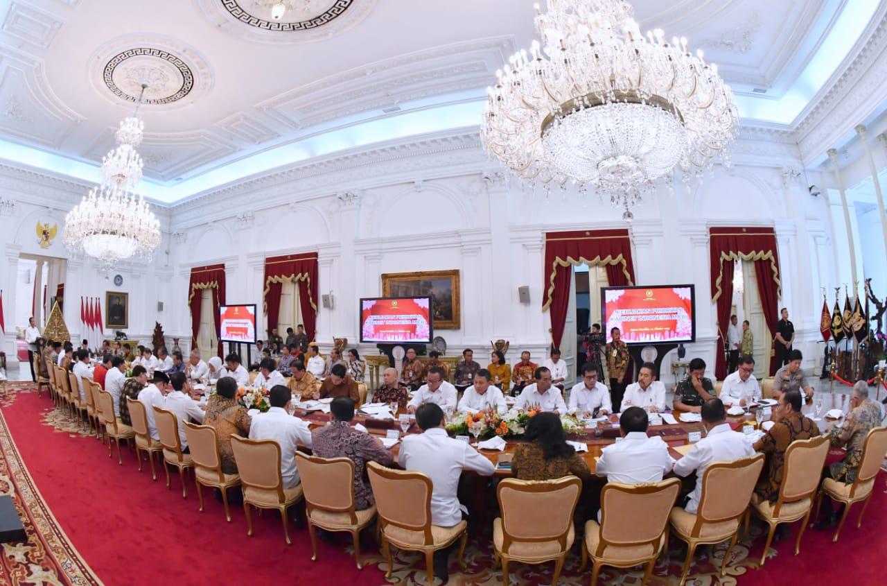 Kabinet Indonesia Maju Gelar Sidang Paripurna Pertama