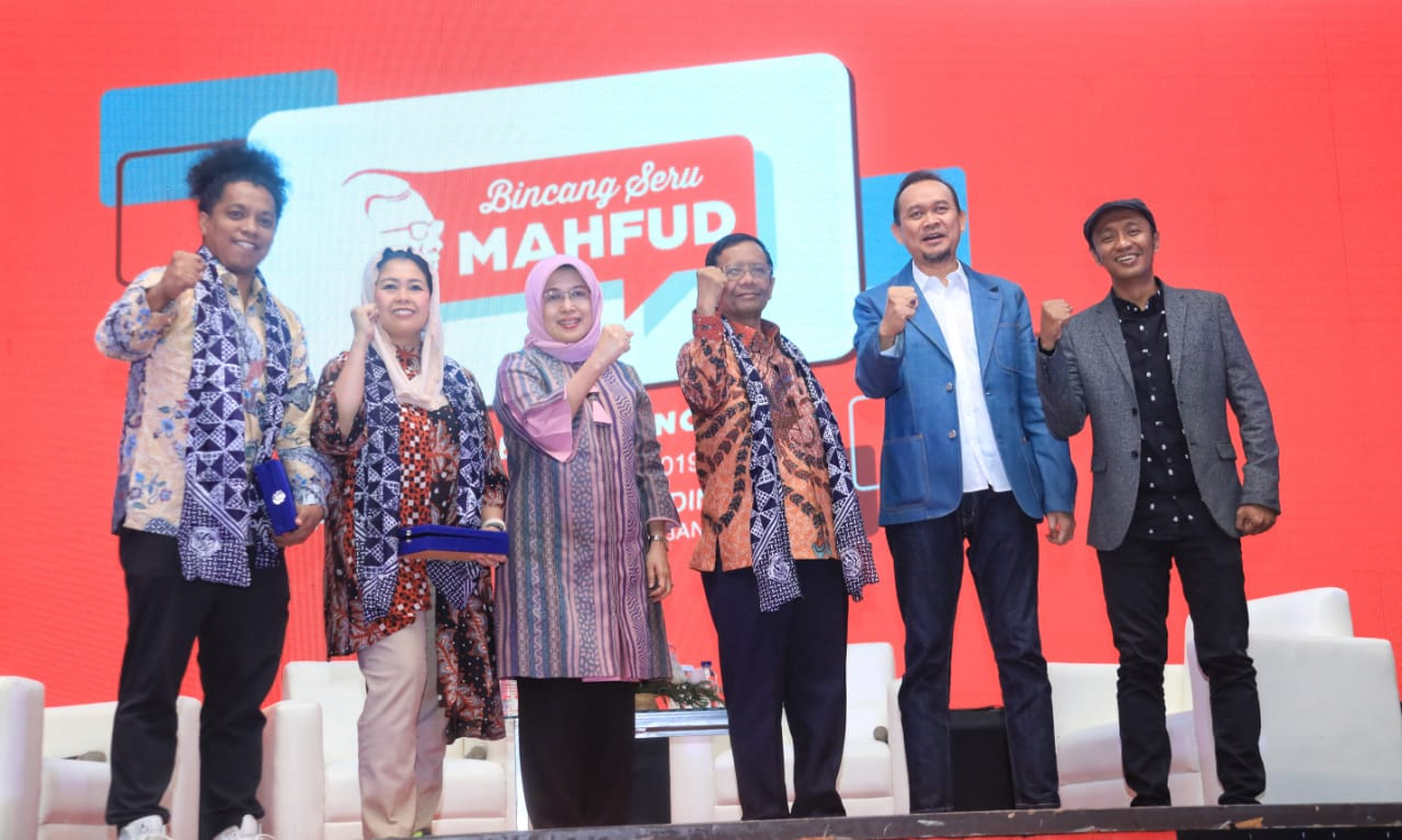 Mahfud MD Dorong Mahasiswa Lebih Kreatif