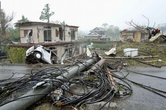 Tak Ada WNI Jadi Korban Langsung dari Badai Hagibis