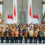 Jokowi Umumkan Menteri, Berikut Susunan Lengkapnya :