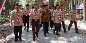 Kusnadi Apresiasi Jambore Daerah Jawa Timur