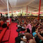 Ribuan Pelajar di Surabaya Ikuti Sekolah Kebangsaan