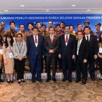 Pesan Presiden kepada Peneliti Muda Indonesia di Korea Selatan