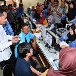 Presiden Sidak Pelayanan BPJS di Subang