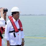 Presiden Tinjau Perkembangan Pembangunan Pelabuhan Patimban