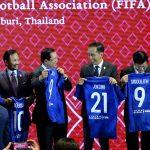 FIFA Berikan Jersey Nomor 21 untuk Presiden Jokowi