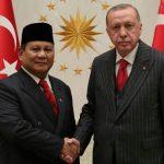 Prabowo Bertemu Presiden Erdogan Perkuat Kerjasama Pertahanan