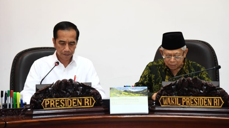 Presiden Instruksikan Pembenahan Manajemen Logistik dan Pengelolaan Cadangan Beras